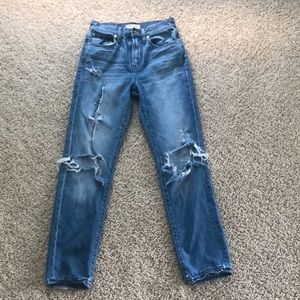 Madewell The Perfect Vintage Distress Jeans